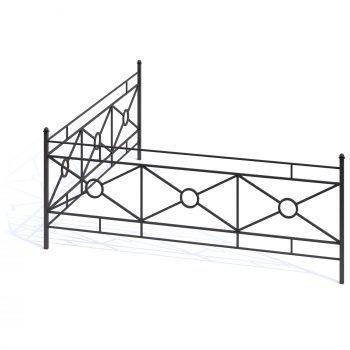Кованая ограда 6б